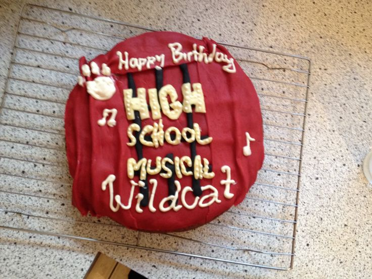 High School Musical Cake Decorations