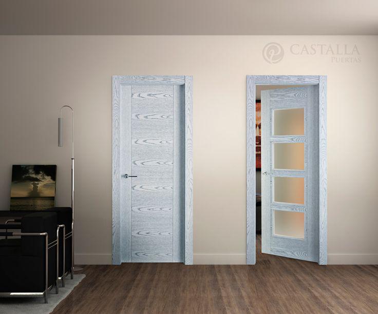 Pin by puertas salamanca on puertas castalla pinterest - Puertas blancas de interior ...
