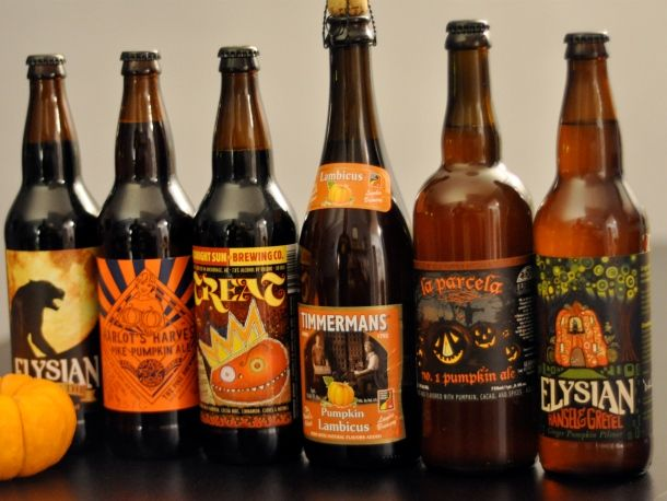 MMM...Halloween beer, all the better with the 31st only a week away...