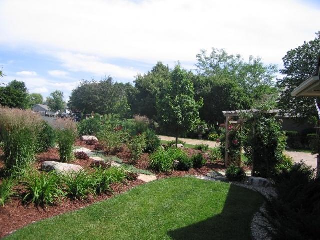 Landscaping a berm outdoor elements pinterest for Landscape berm design