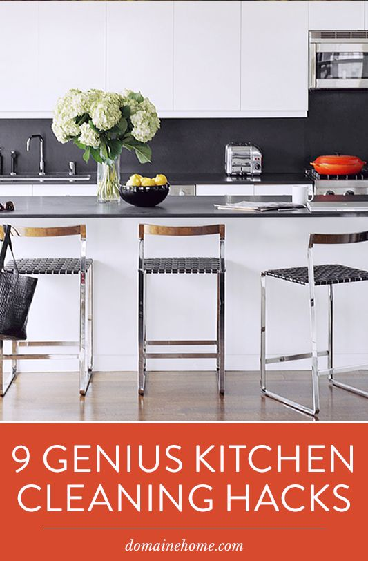 9 GENIUS Kitchen Cleaning Hacks You Need to Know