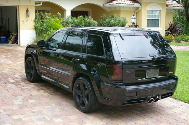 blacked out jeep chero...