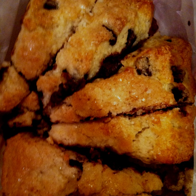 Just made skinny chocolate chip buttermilk scones