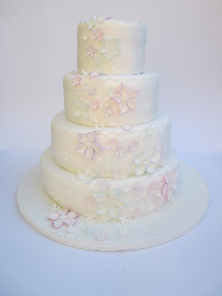 Pastel Wedding Cake Wedding Cake Pinterest