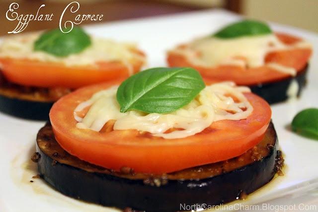 Eggplant Caprese   Misc. Food   Pinterest