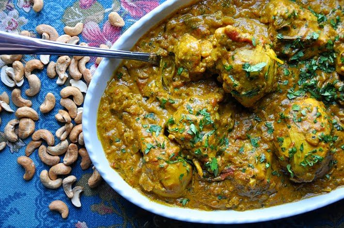 Craving Indian food....Chicken Cashew Curry ~http://www ...
