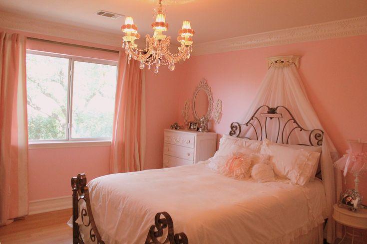 shabby chic girls princess bedroom jenaveve pinterest