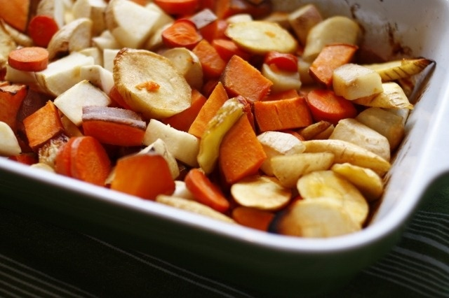 Honey Roasted Root Vegetables | 365 Healthy Recipes | Pinterest