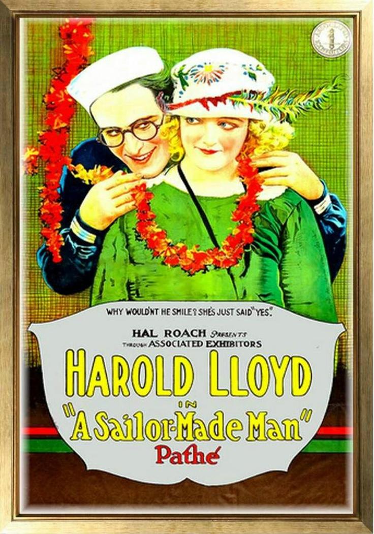 Harold Lloyd - Marinero de Agua Dulce | 1921 Mega-UB