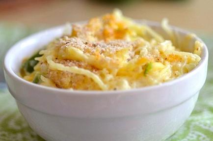 Spaghetti Squash Jalapeño Casserole | healthy food ideas | Pinterest