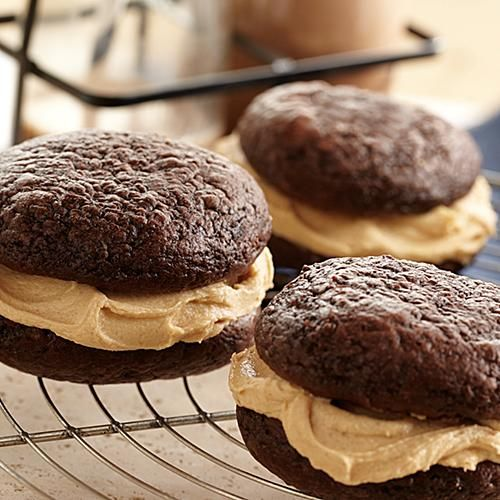 butter pies mini chocolate peanut butter whoopie pies recipes dishmaps ...