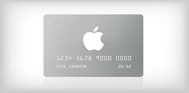 apple credit card in store