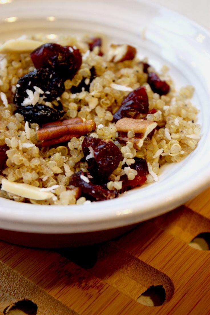 Hearty Quinoa Breakfast Cereal