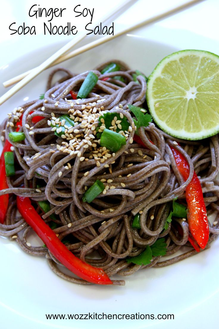 ... collections kitchen creations products ginger soy soba noodle salad