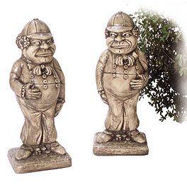 Garden statuary alice in wonderland alice in - Alice in wonderland garden statues ...
