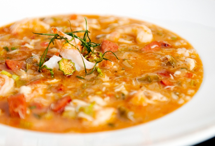Seafood Andouille Gumbo | Food | Pinterest