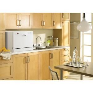 Danby Dishwasher. 24 in. Countertop Dishwasher in White DDW611WLED