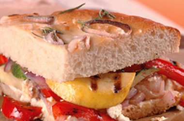 California Grilled Veggie Sandwich | Sandwiches | Pinterest