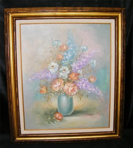 Oil Painting Signed T W