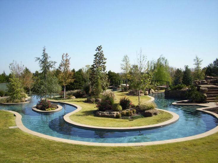 Lazy River In My Backyard : awsome  Fun & Relaxing  Pinterest