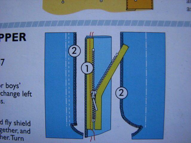 23 31 octobre 2010 056 couture techniques pinterest - Poser une fermeture eclair invisible ...