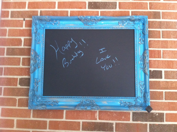 Cool Chalkboard Craft Ideas Pinterest