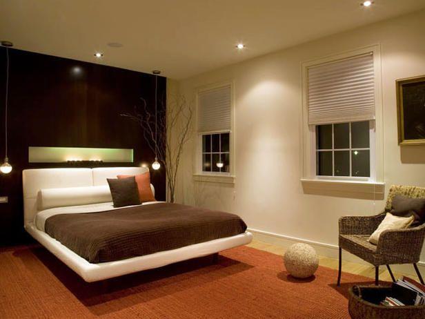 Modern Brown Bedroom