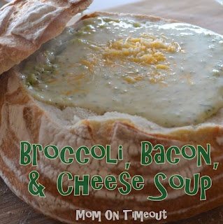 Kale (or Broccoli) Soup With Bacon And Cheese Recipe ...