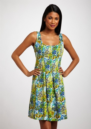 NINE WEST Spring Fields Dress