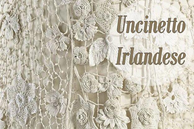 Uncinetto irlandese crochet pinterest for Pizzi ad uncinetto schemi