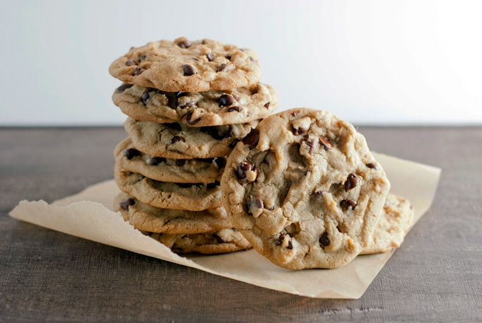 Thick and Chewy Chocolate Chip Cookies | One Cookie or Two | Pinterest