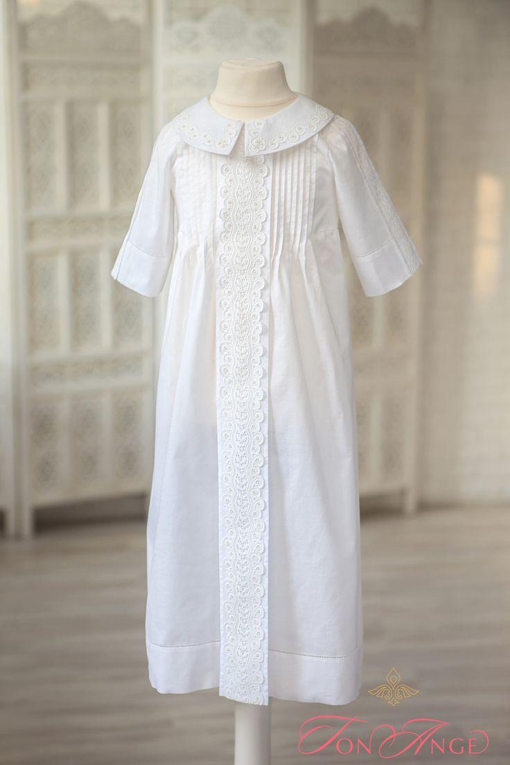 Крестильное платье для девочки 51