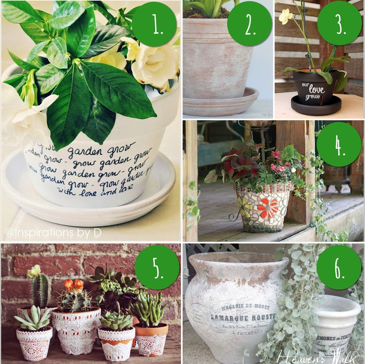 10 diy flower pot painting ideas cute gifts to make pinterest