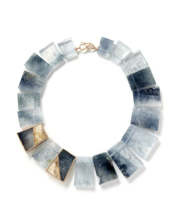#necklace Ancash Woolly Mammoth Tooth Necklace £21010 Monique Péan at COUTURELAB, this necklace is AMAZING