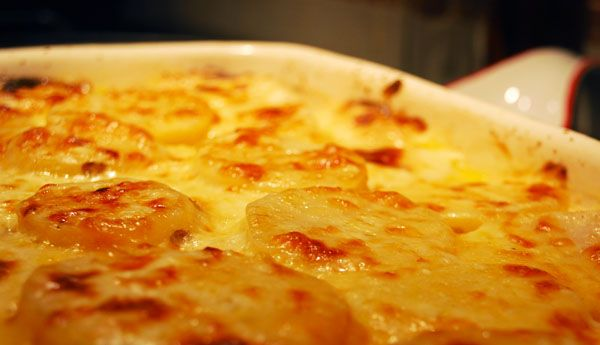 Potatoes-au-gratin | Potato Dishes | Pinterest