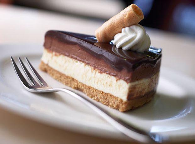 Chocolate-Mousse-Cheesecake Recipe - RecipeChart.com