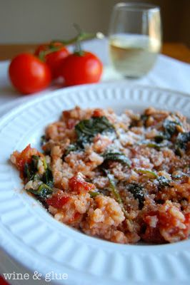 Tomato Sausage Risotto! Its delicious, flavorful, and healthy! via www ...
