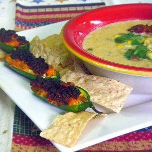 Chorizo-Stuffed Jalapenos ala Homesick Texan
