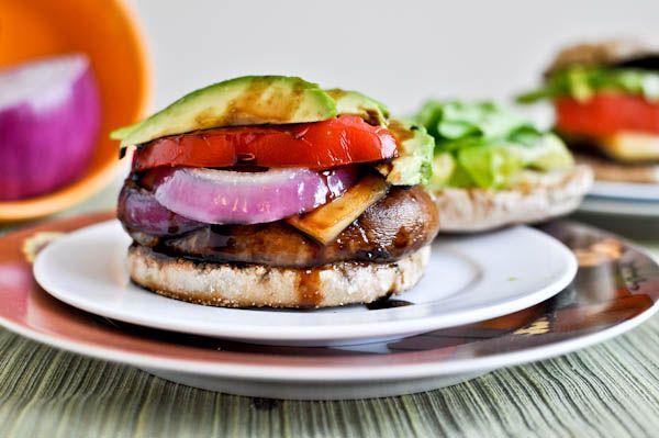 portobello burgers | Dyrk og spis | Pinterest