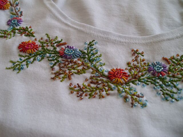 Rococo embroidery pinterest
