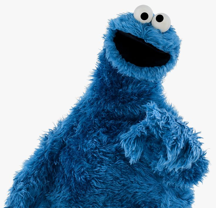 cookie monster blue