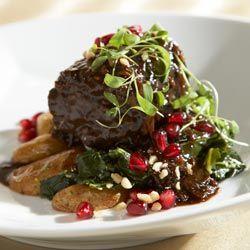 ... Restaurant in Atlanta, GA-Pomegranate Braised Boneless Beef Short Rib