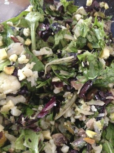 Steamed Vegetable Salad With Macadamia Dressing Recipe ...