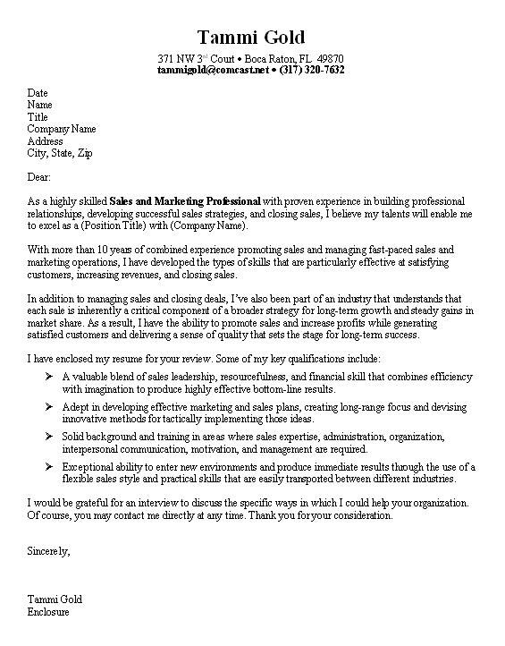 Cover Letter Examples Uk Marketing - fius