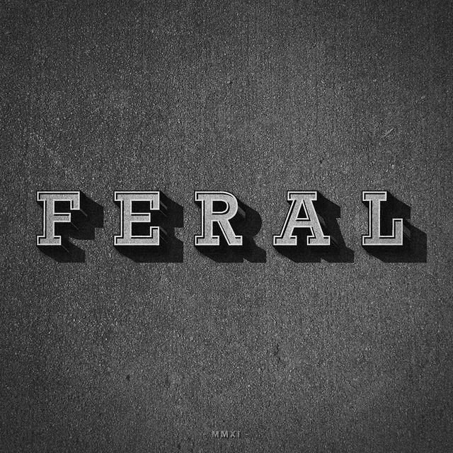 Feral | Designer: Lorenzo Cappelli - http://dribbble.com/m_moloch