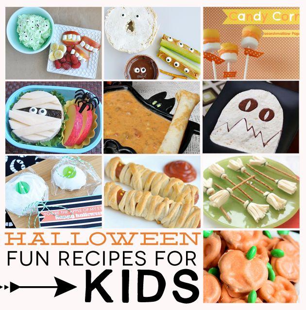 20+ Fun Halloween Recipes for Kids | Holidays - HALLOWEEN | Pinterest
