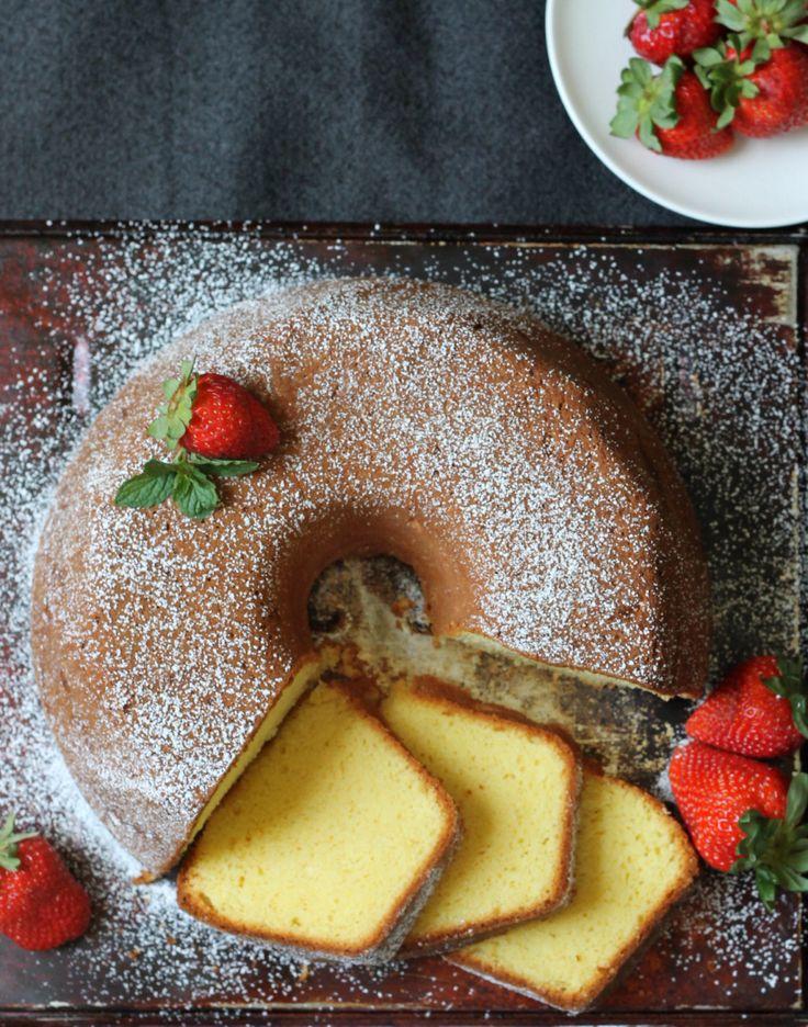 Cream Cheese Pound Cake | Recipe