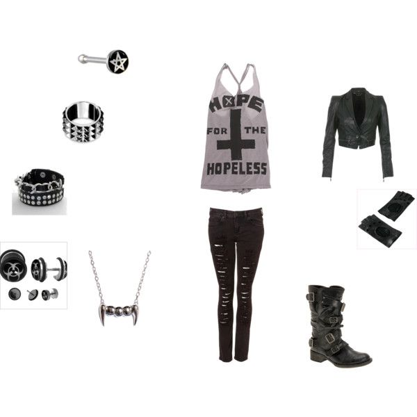 A simple day out, created by gabster007.polyvore.com