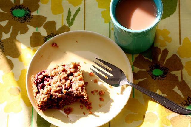 Raspberry Breakfast Bars | Breakfast Ideas / Brunch | Pinterest