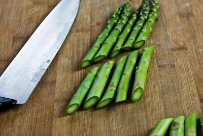 Barely-Cooked Asparagus with Lemon-Mustard Vinaigrette (Low-Carb, Pal ...